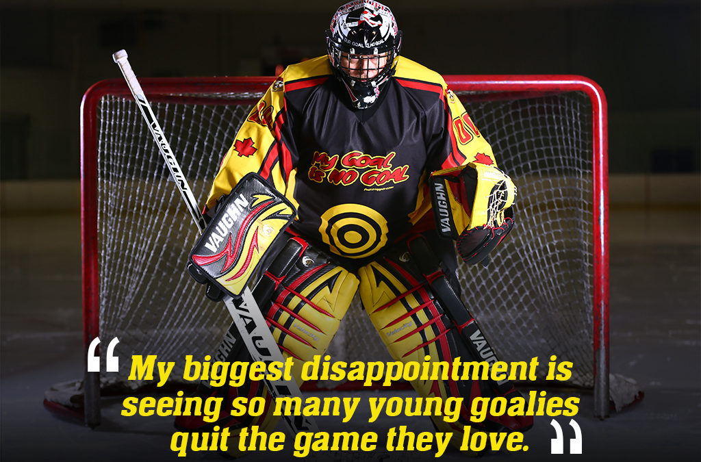 Self Esteem & Well Being of Young Goaltenders Often Ignored. Why is This Acceptable?